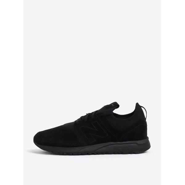 Pantofi sport negri din piele intoarsa pentru barbati – New Balance MRL247