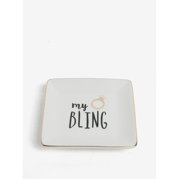 Farfurie alba pentru bijuterii - CGB My Bling