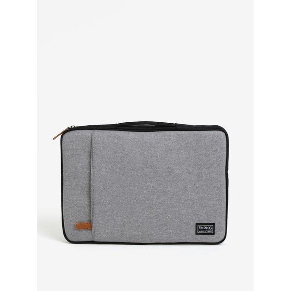 Husa gri melanj impermeabila pentru laptop de 15 - PKG