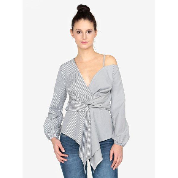 Bluza in dungi asimetrica MISSGUIDED