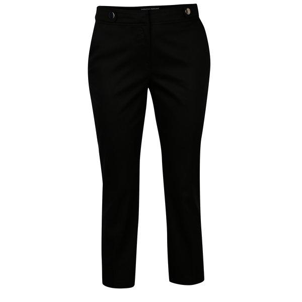 Pantaloni negri cu nasturi decorativi - Dorothy Perkins