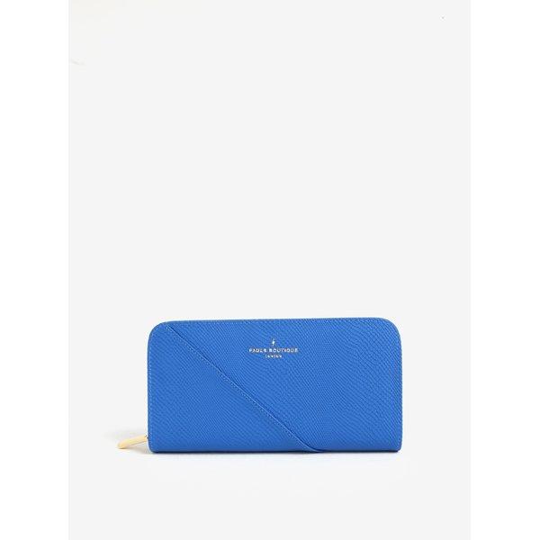Portofel mare albastru cu model reptila Paul's Boutique Carla