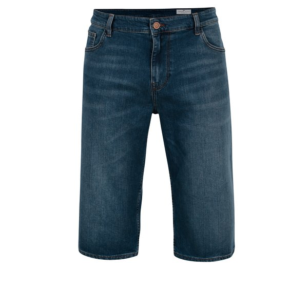 Blugi scurti regular fit albastri pentru barbati - Cross Jeans