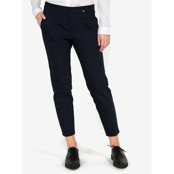 Pantaloni slim fit crop bleumarin s.Oliver