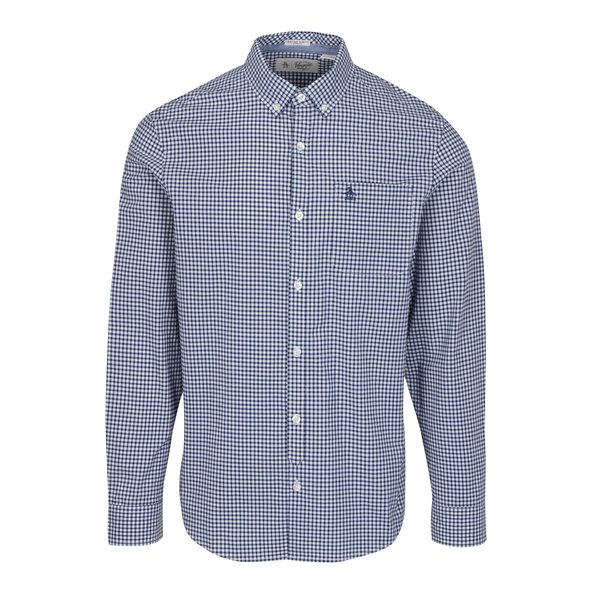 Camasa slim fit albastru&alb in carouri – Original Penguin Core Gingham