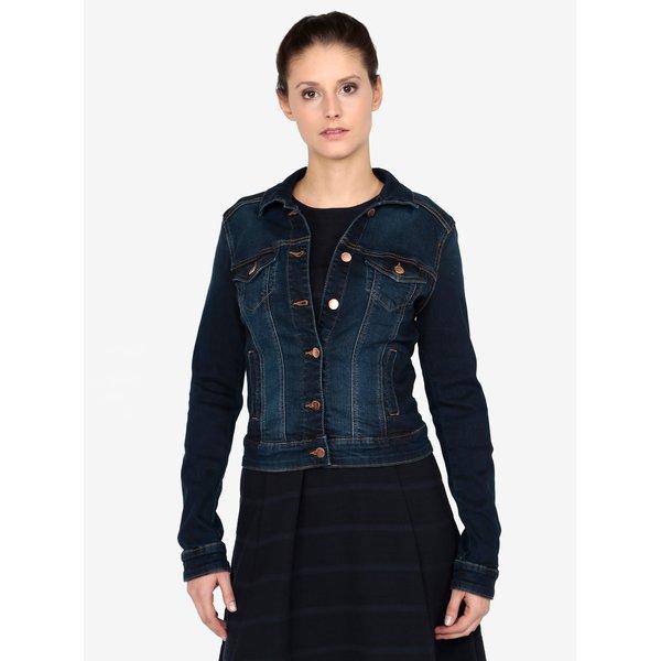 Jacheta blemarin crop din denim pentru femei QS by s.Oliver