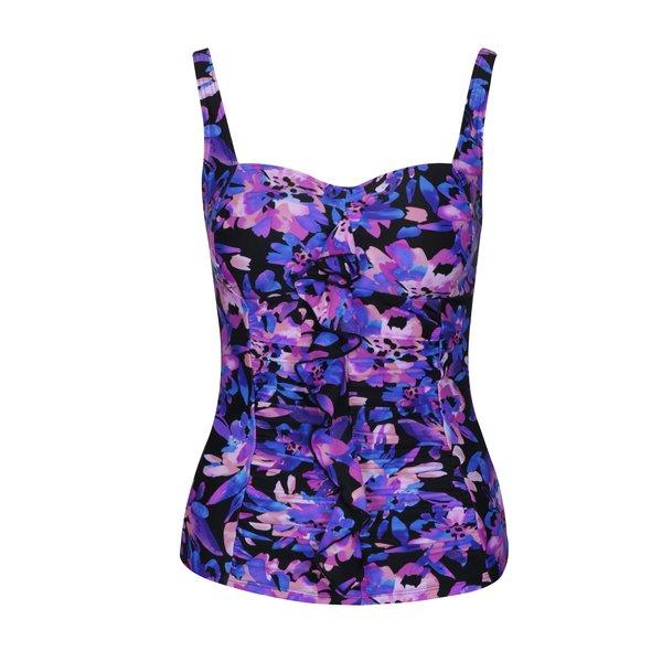 Top cu print multicolor floral pentru costum de baie M&Co