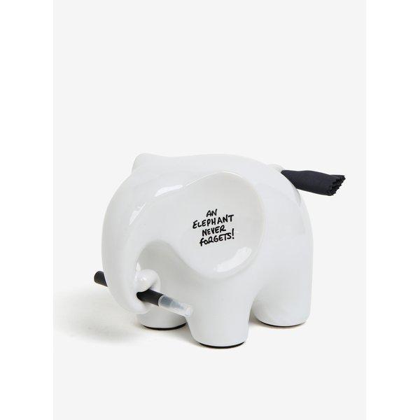 Elefant ceramic cu marker pentru mesaje - Luckies