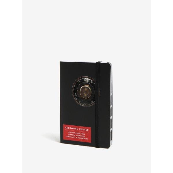 Carnet / agenda neagra cu print - Galison