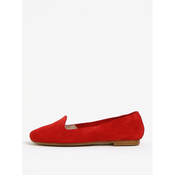 Imagine indisponibila pentru Balerini rosii din piele intoarsa OJJU
