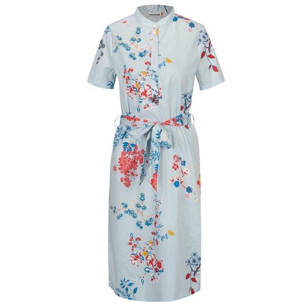Rochie camasa cu dungi si flori Noisy May Conansa