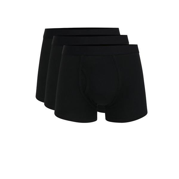 Set de trei boxeri negri - Burton Menswear London