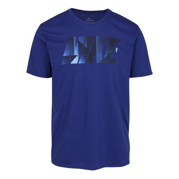 Tricou sport bleumarin cu print pentru barbati – Nike