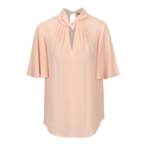Bluza roz pal cu nod decorativ Dorothy Perkins