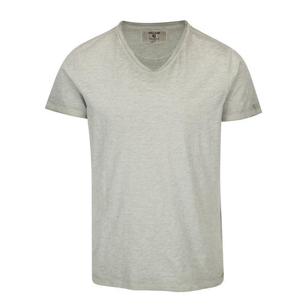 Tricou gri melanj pentru barbati - Garcia Jeans Marco