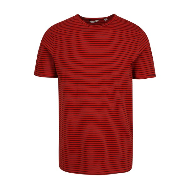 Tricou rosu&albastru in dungi - ONLY & SONS Albert Stripe