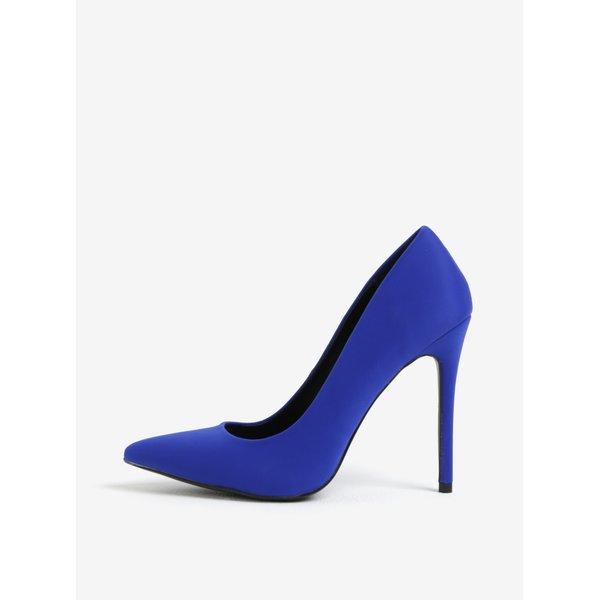 Pantofi albastri cu toc inalt - MISSGUIDED