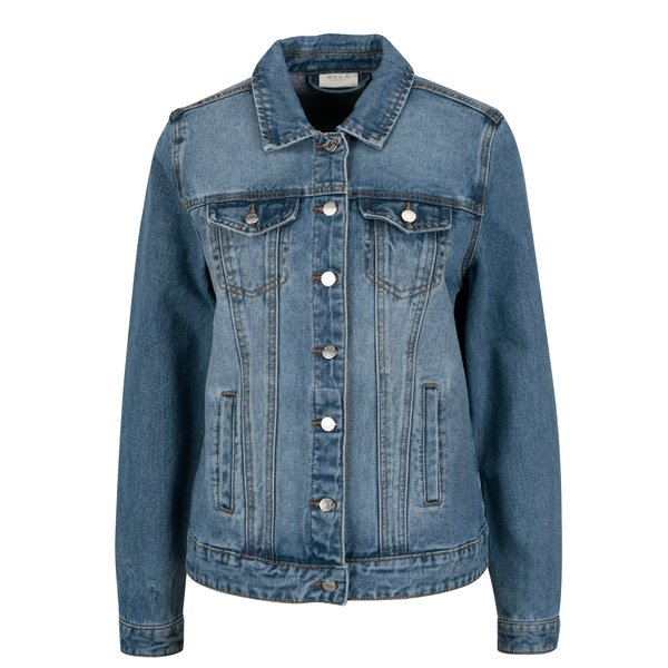 Jacheta albastra din denim – VILA Jules