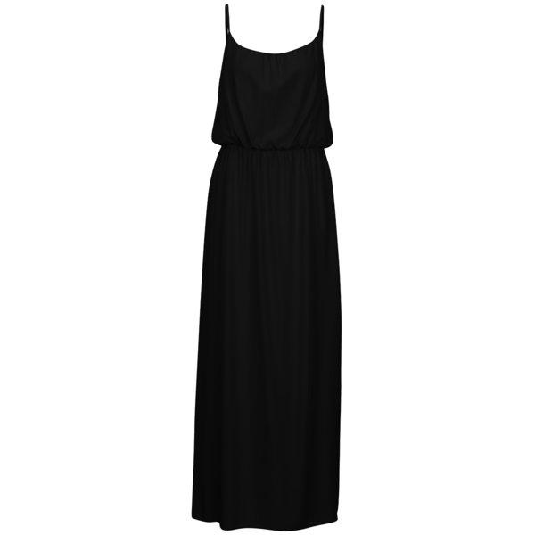 Rochie maxi neagra cu bretele ajustabile - ONLY Nova