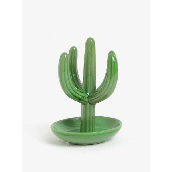 Suport verde de bijuterii in forma de cactus SIFCON