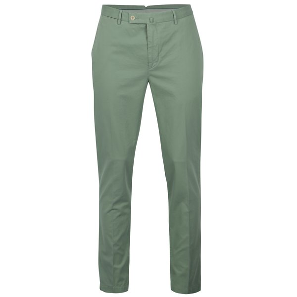 Pantaloni chino slim fit verde deschis – Hackett London