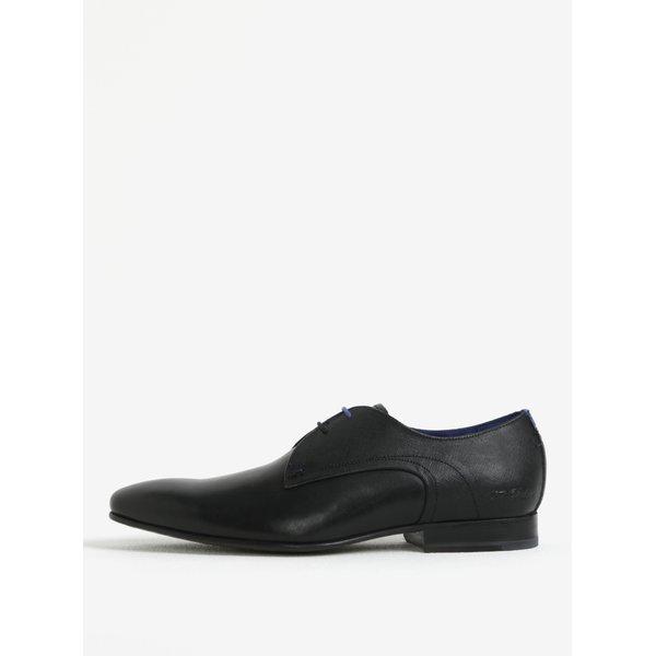 Pantofi negri din piele naturala pentru barbati - Ted Baker Peair