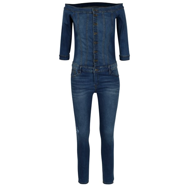 Salopeta din denim cu maneci 3/4 – ONLY Julia