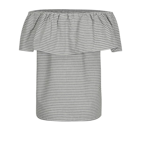 Bluza cu decolteu pe umeri VILA Delina