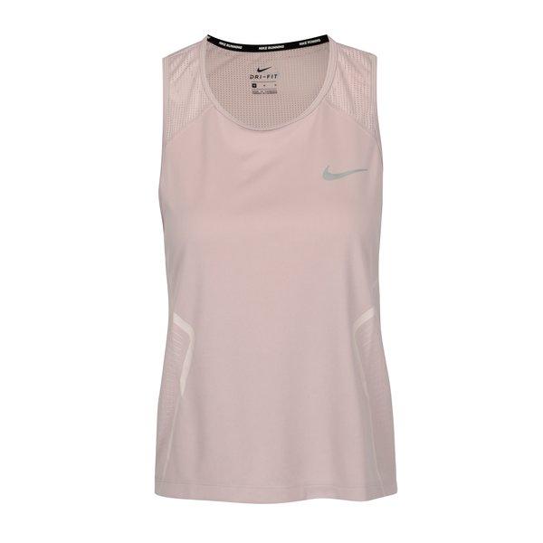 Top sport roz cu perforatii pentru femei Nike Dry Miler Tank
