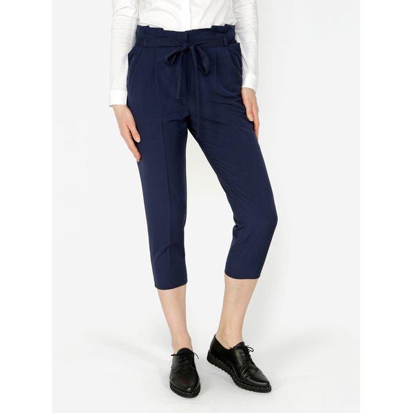 Pantaloni 3/4 bleumarin Miss Selfridge Petites