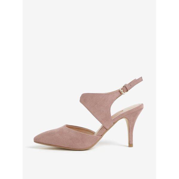 Pantofi slingback roz cu varf ascutit -Dorothy Perkins