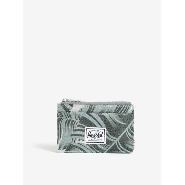 Portofel verde pentru carduri si documente - Herschel Oscar