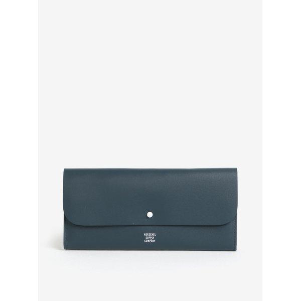 Portofel bleumarin din piele naturala pentru femei - Herschel Distance