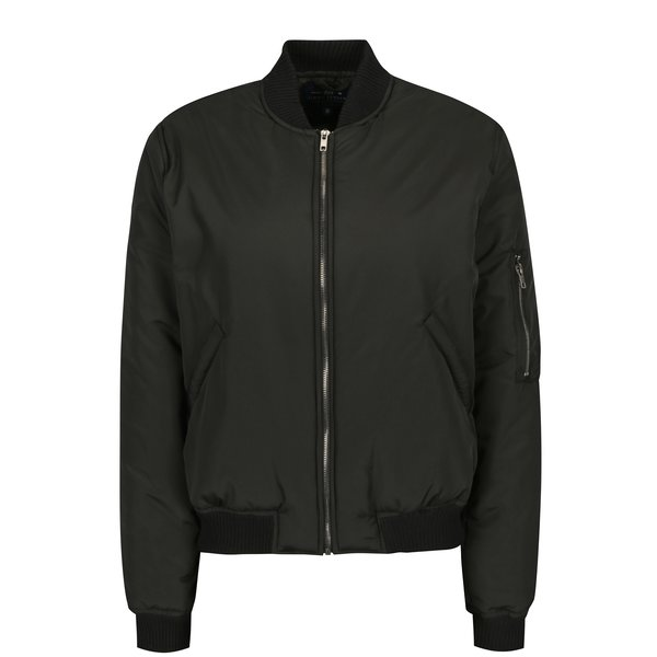 Jacheta bomber neagra pentru femei - Jimmy Sanders