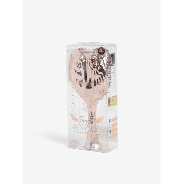 Perie de par auriu roze in forma de aripi de inger – Tangle Angel