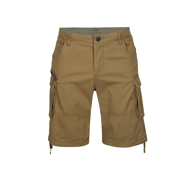 Pantaloni cargo scurti bej – Jack & Jones Chop