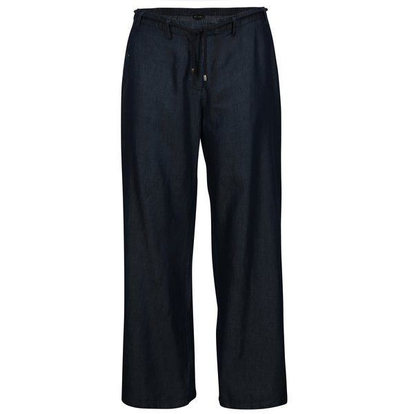 Pantaloni lejeri din denim bleumarin Ulla Popken