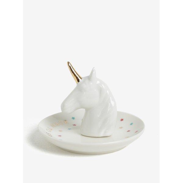 Suport decorativ cu cap de unicorn pentru bijuterii - CGB