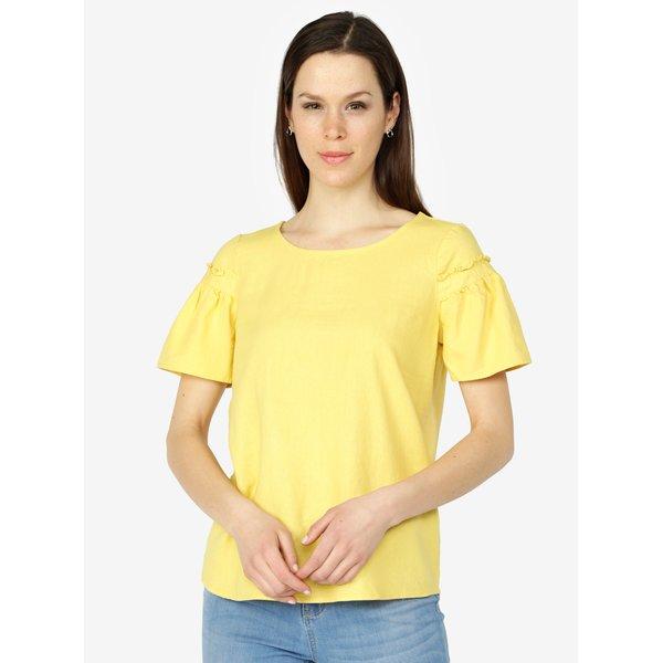 Tricou galben oversized cu maneci clopot - VERO MODA Asta