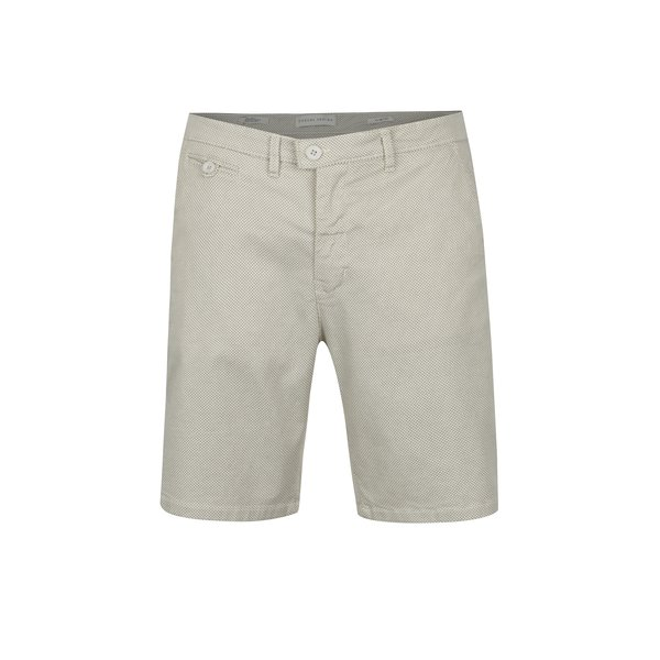 Pantaloni scurti bej cu print discret - Casual Friday by Blend