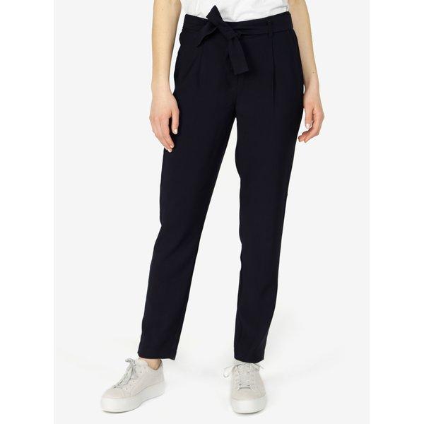 Pantaloni bleumarin - VERO MODA Elke
