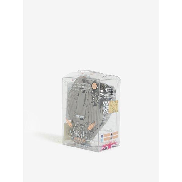 Perie de par pliabila argintie in forma de aripi de inger - Tangle Angel