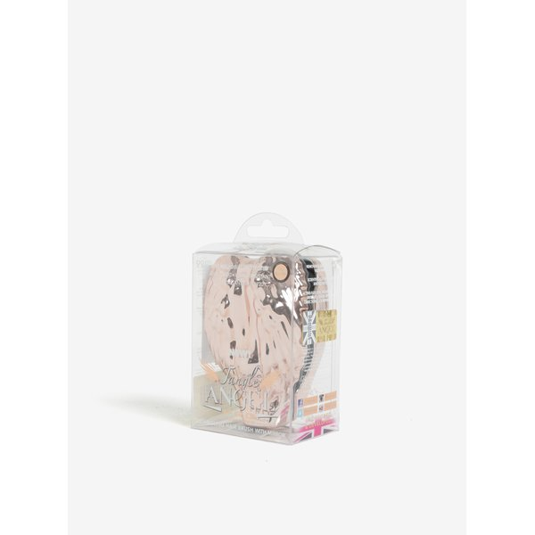 Perie de par pliabila auriu roze in forma de aripi de inger – Tangle Angel