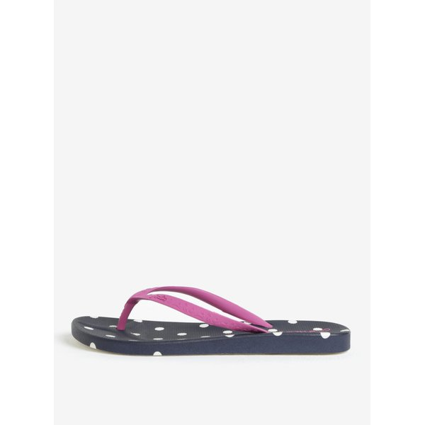 Papuci flip-flop bleumarin cu buline Tom Joule