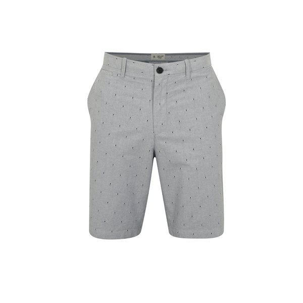 Pantaloni scurti chino bleu cu model discret – Original Penguin Dobby