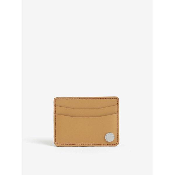 Portofel din piele naturala pentru card si documente - Herschel Ace