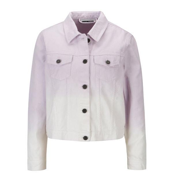 Jacheta cropped violet&alb din denim – Noisy May Mino