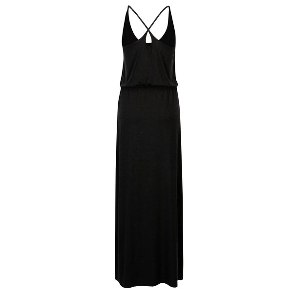 Rochie maxi gri inchis cu slit lateral ONLY Mellie