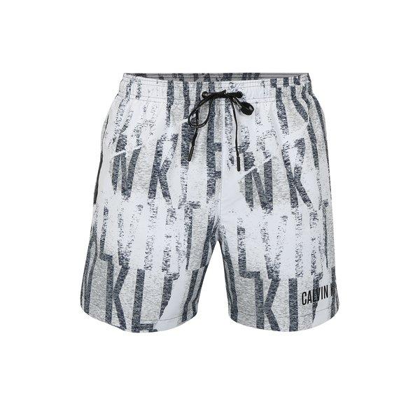 Pantaloni scurti de baie cu print pentru barbati - Calvin Klein