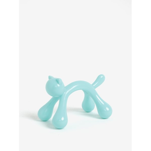 Dispozitiv de masaj albastru in forma de pisica Kikkerland